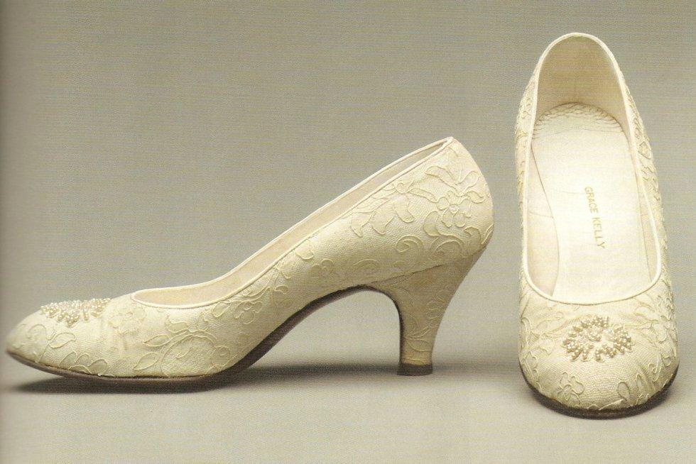Grace Kelly's 2½-inchwedding heels.