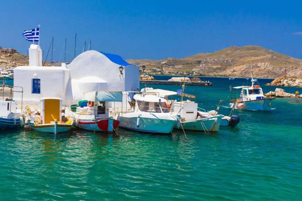 In ancient times, Paros island was famous all around the world because of its fine white marble that was used for creating many famous monuments.