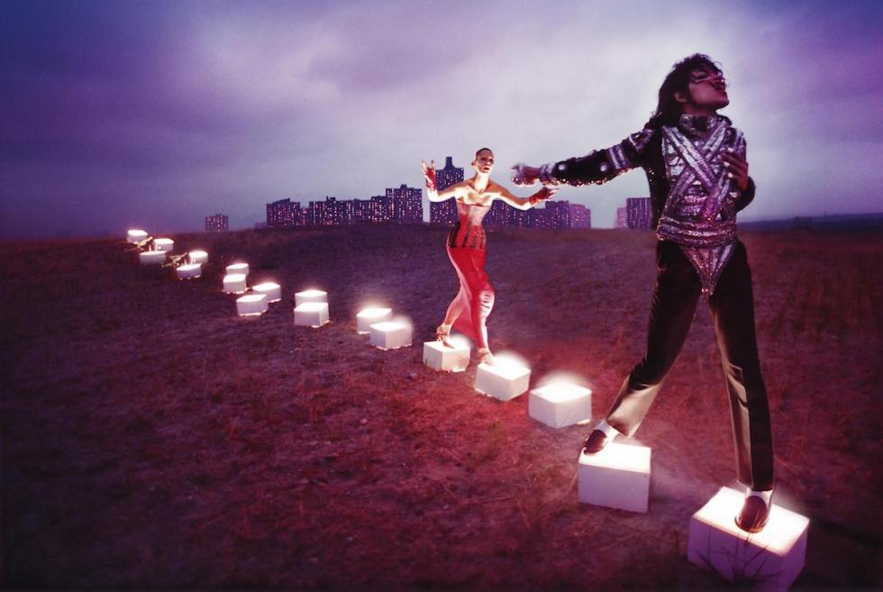 """An Illuminating Path,"" David LaChapelle, 1998."
