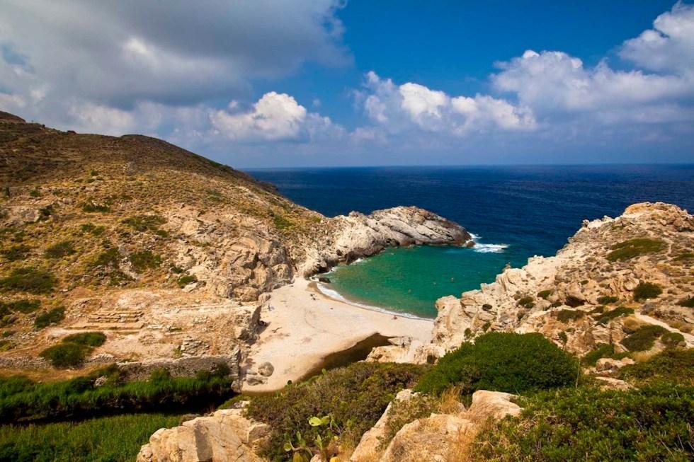 Nas beach, Ikaria island, Greece.