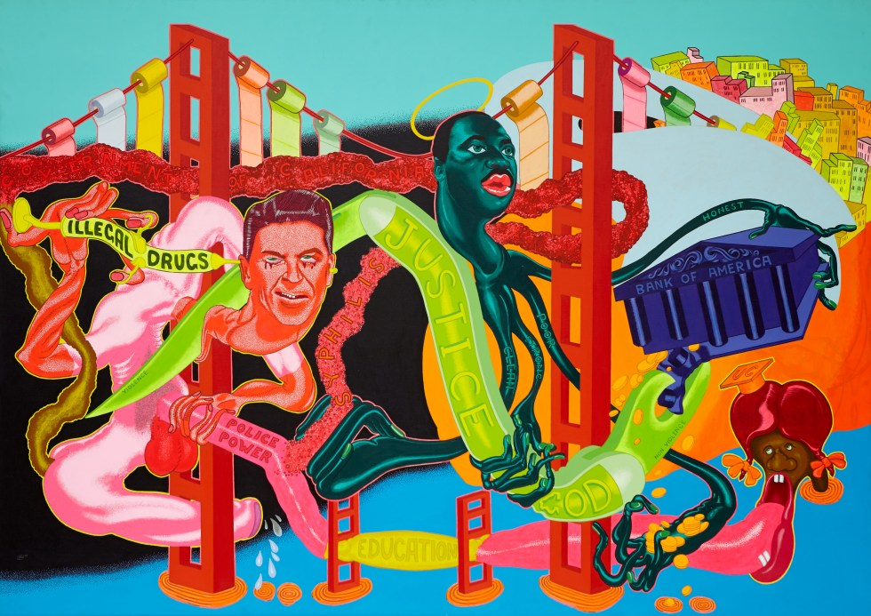 12. Peter Saul. Government of California, 1969