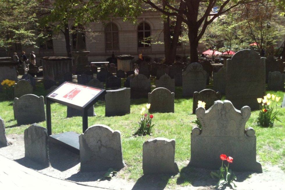 King's Chapel Burying Ground, Boston, Massachusetts, USA. Photo by Katerina Papathanasiou/The Vale Magazine