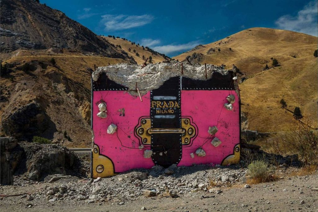 Valley of Secret Values art installation created by Thrashbird in Oregon.