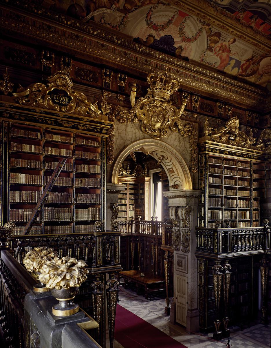 Biblioteca Joanina, Coimbria, Portugal
