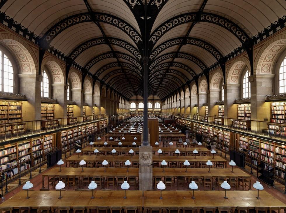 Bibliothèque Sainte-Geneviève, Paris, France. Photograph © Massimo Listri / TASCHEN