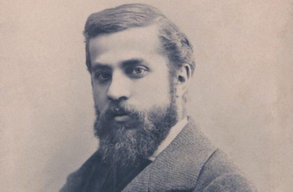 Spanish architect Antoni Gaudí i Cornet (1852 – 1926).