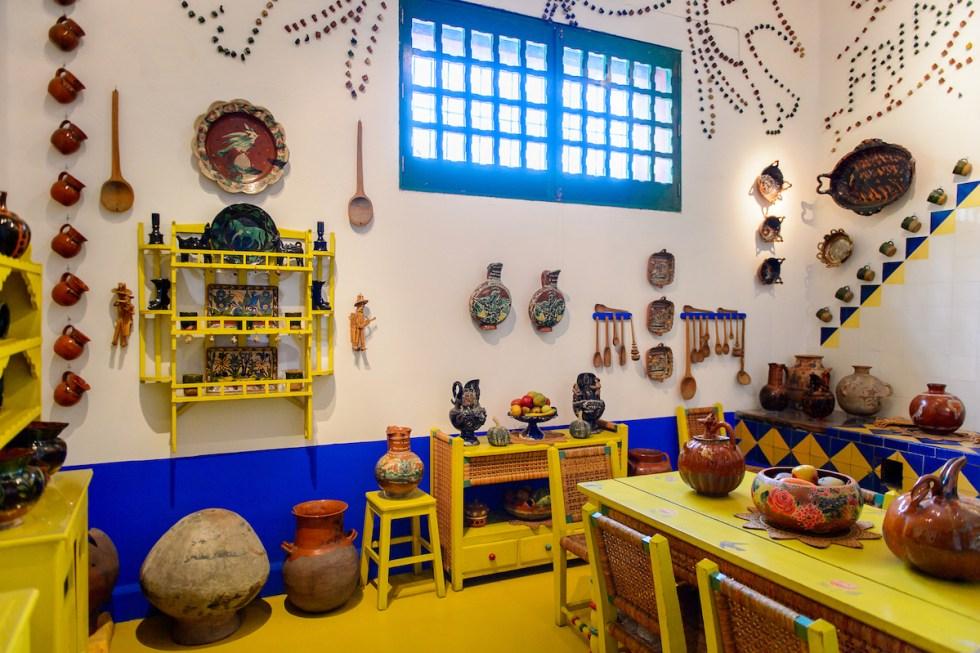 Museo Frida Kahlo, Mexico City, Mexico