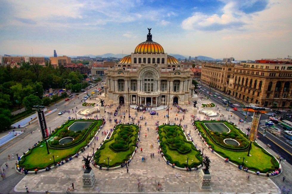 Palacio de las Bellas Artes, Mexico City, Mexico