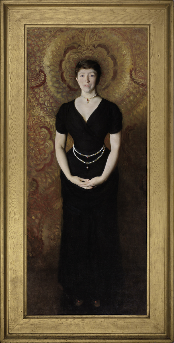 Portrait of Isabella Stewart Gardner painted by John Singer Sargent in 1888.