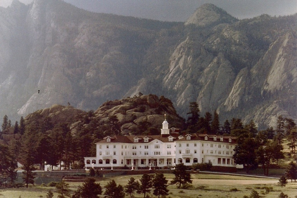The Stanley Hotel in Estes Park, Colorado.
