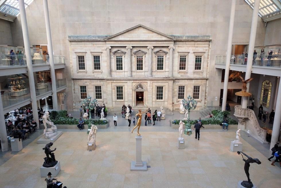 The Metropolitan Museum of Art (Met) in New York City, USA.