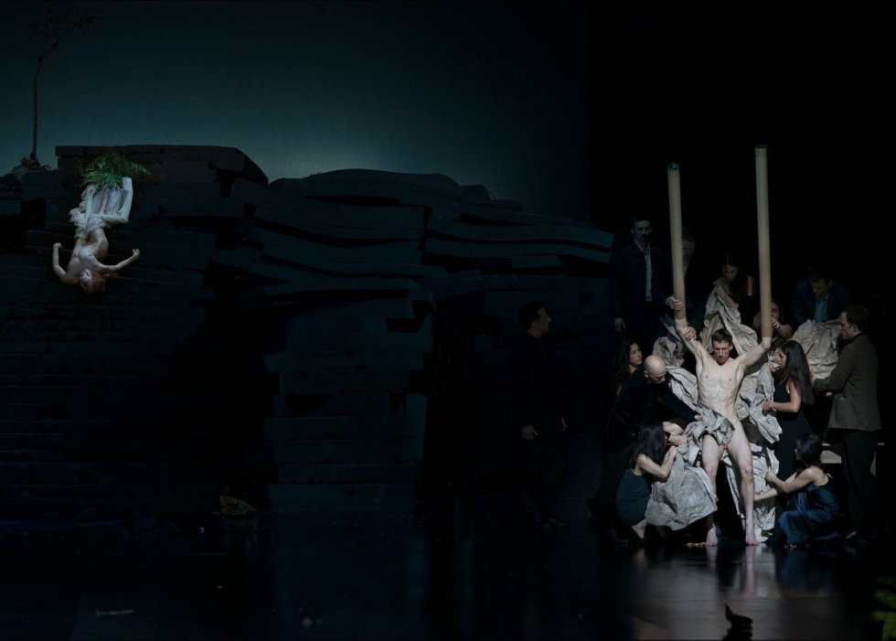 Since She: A Piece For Seventeen Performers choreographed by Dimitris Papaioannou.