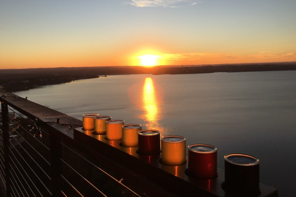 The Oasis on Lake Travis in Austin, Texas.