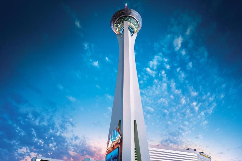 The Stratosphere Casino, Hotel & Tower in Las Vegas, Nevada.