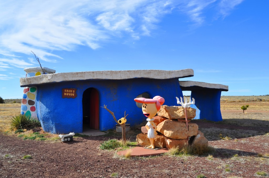 Fred's house in Flintstones Bedrock City, Arizona.