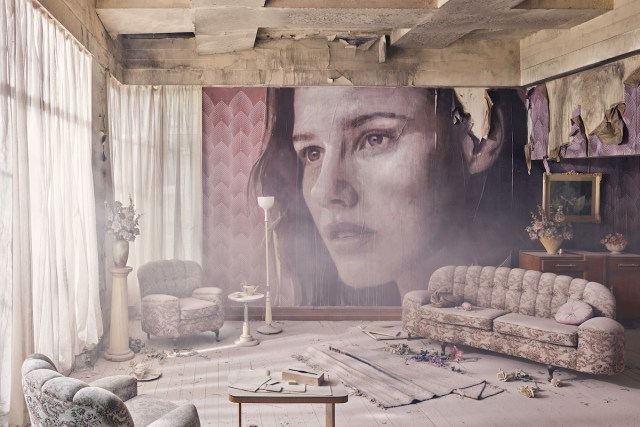 Empire art installation created by Melbourne artist Rone.