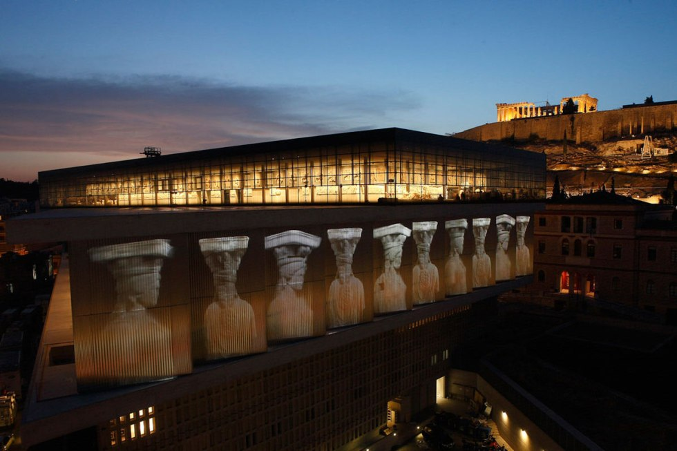 The Acropolis Museum in Athens, Greece.