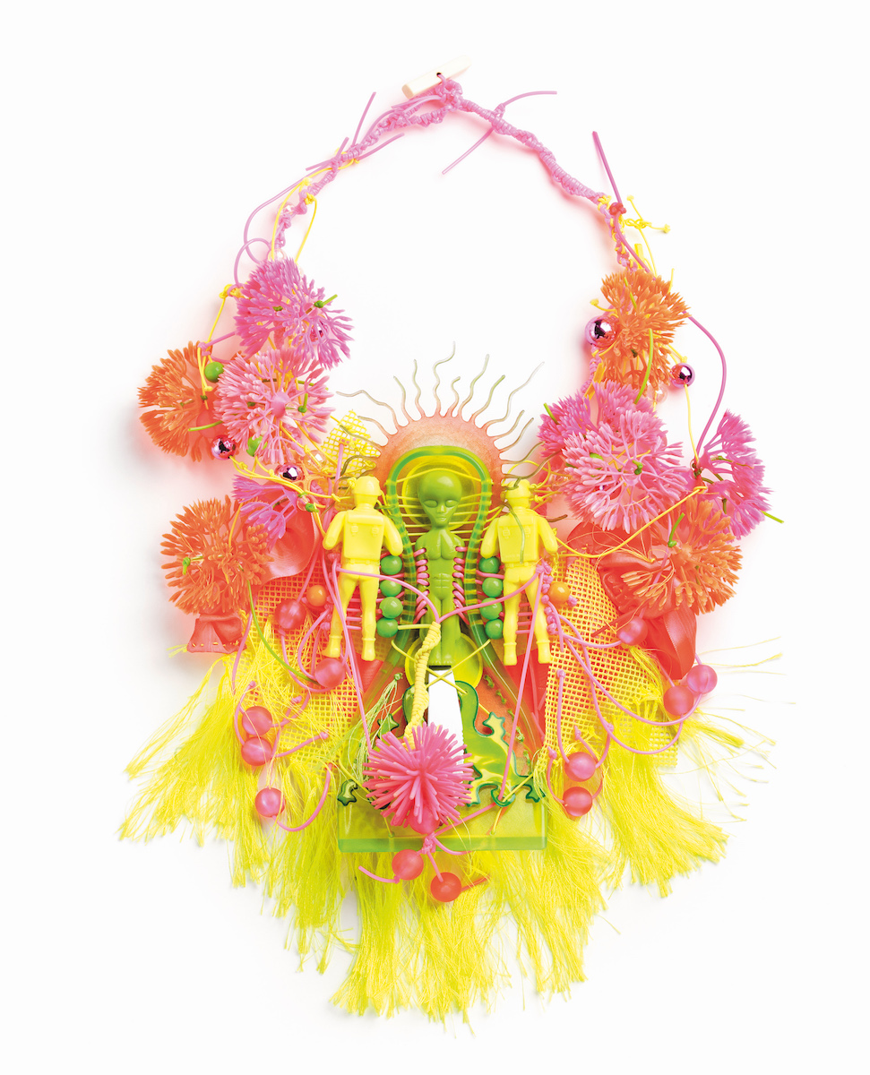 Fluo Alien, Daniel von Weinberger for The Sacred & The Profane Jewelry Show.
