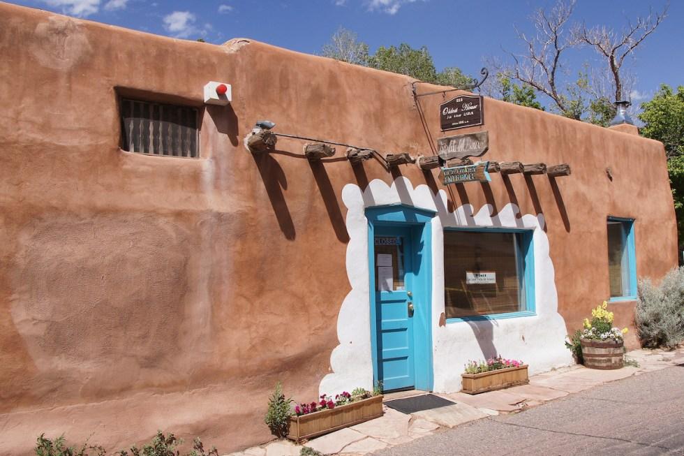 La Casa Vieja de Analco in Santa Fe, New Mexico