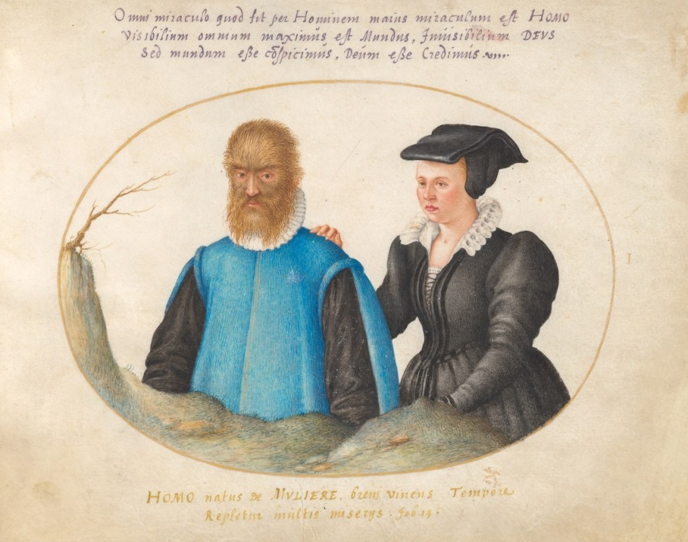 Petrus Gonsalvus and Lady Catherine