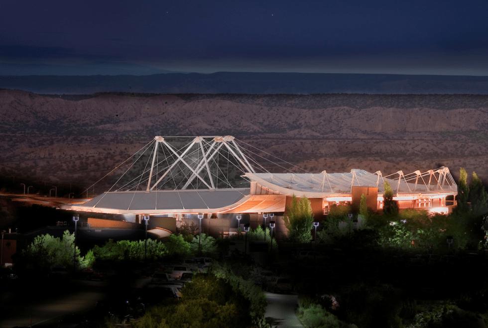Santa Fe Opera in New Mexico.