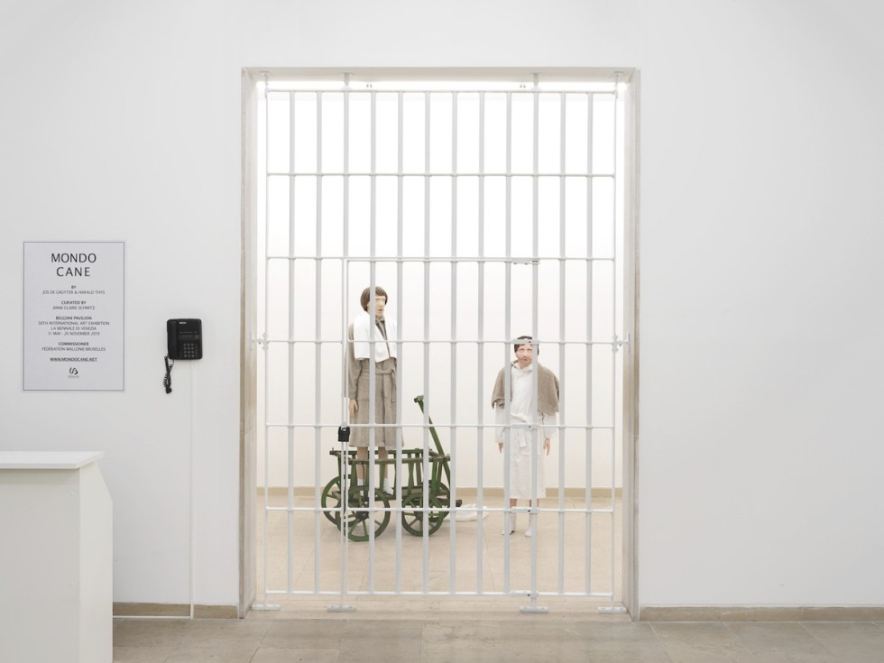 Mondo Cane, an exhibition by Jos de Gruyter and Harald Thys curated by Anne-Claire Schmitz - Belgian Pavilion - La Biennale di Venezia 2019 - Courtesy and copyright of the artists and the Belgian Pavilion - Image Nick Ash