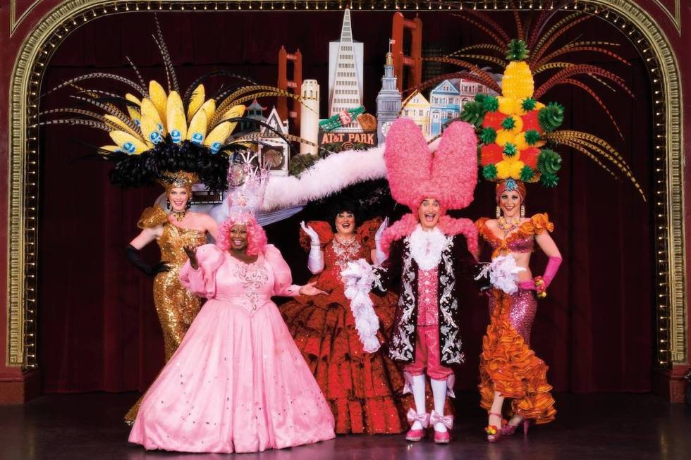 Beach Blanket Babylon performers