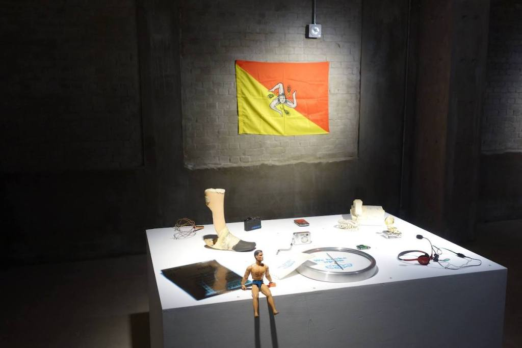 Items dedicated to failed love relationships displayed as part of the Museum of Broken Relationships