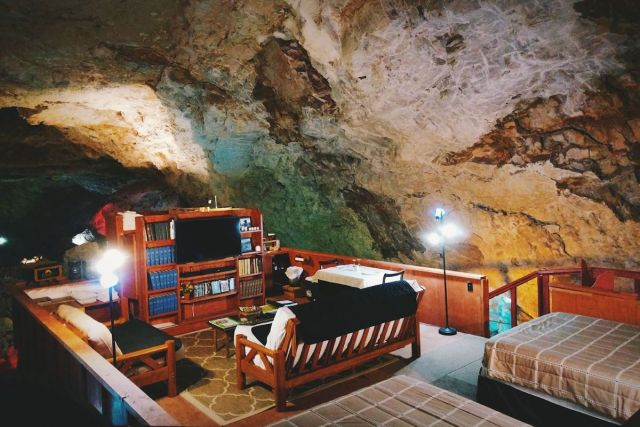 Grand Canyon Caverns Underground Suite in Arizona