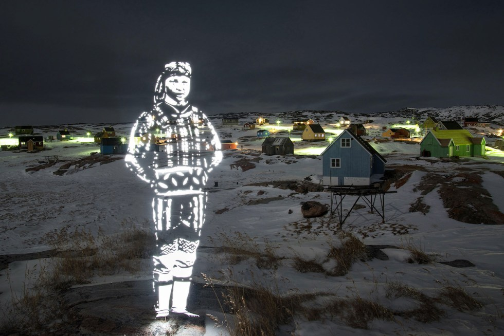 """Like Candles in the Village,"" part of Fabrice Wittner's ecologically conscious project ""The Northern Lights"""