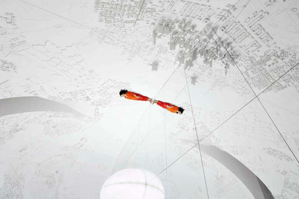 """Memory Palace"" sprawling installation created by artist Es Devlin"