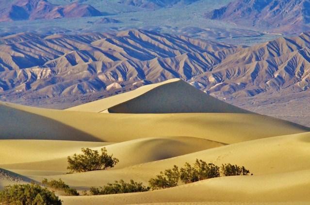 Mesquite Flat Sand Dunes in California