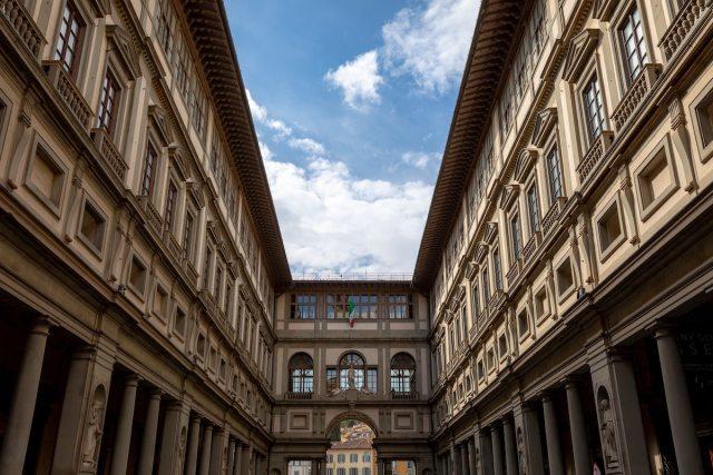 Uffizi Gallery exterior