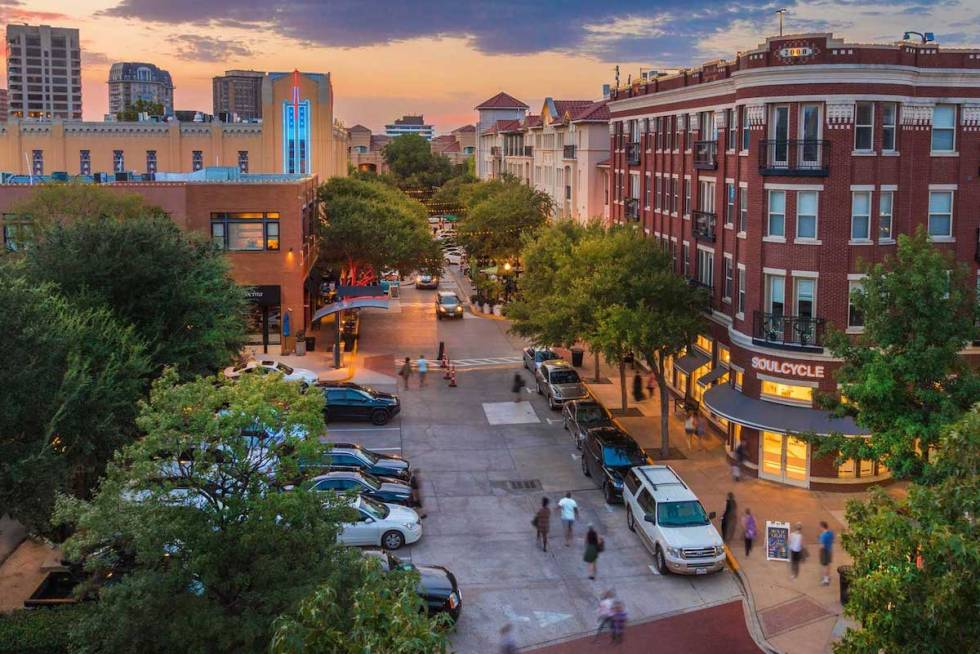 West Village Uptown Dallas