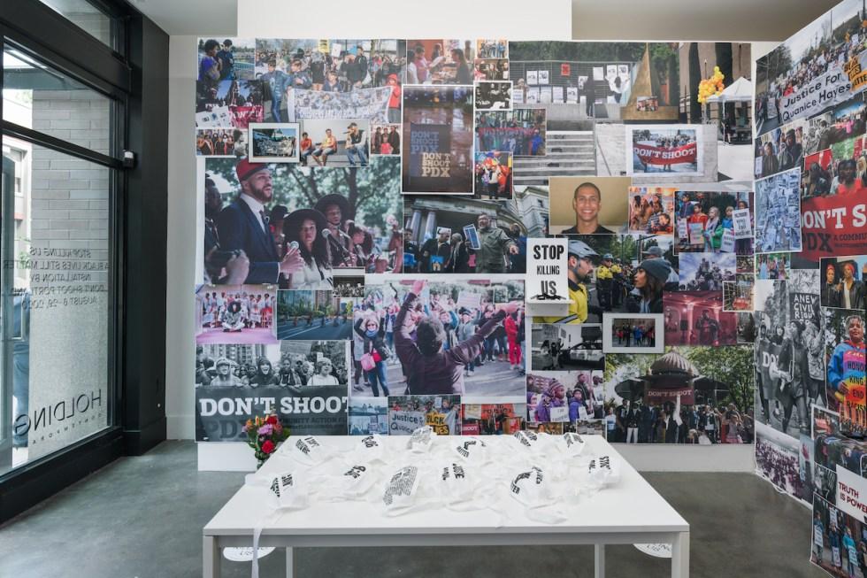 'Stop Killing Us: A Black Lives Still Matter Multimedia Installation' presented by Don't Shoot Portland at HOLDINGContemporary