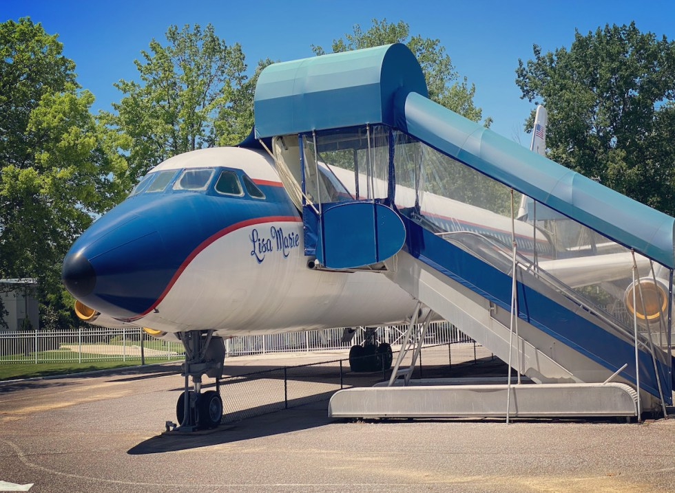 """Elvis' Convair 880, """"Lisa Marie,"""" named after his daughter"""