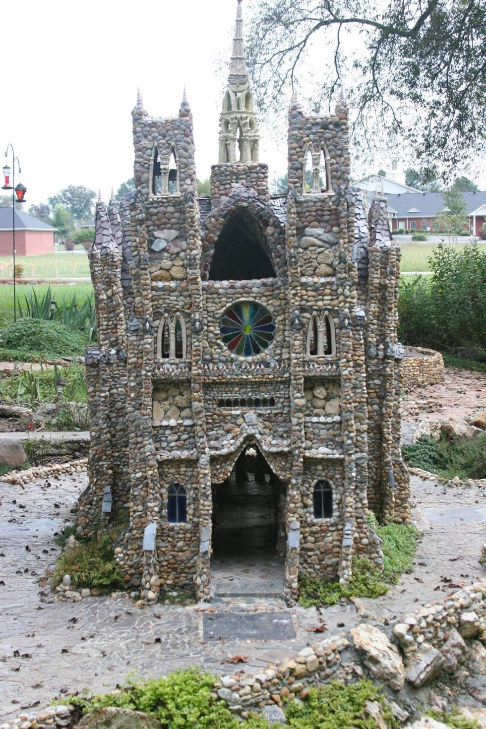 Notre Dame Calhoun Rock Garden