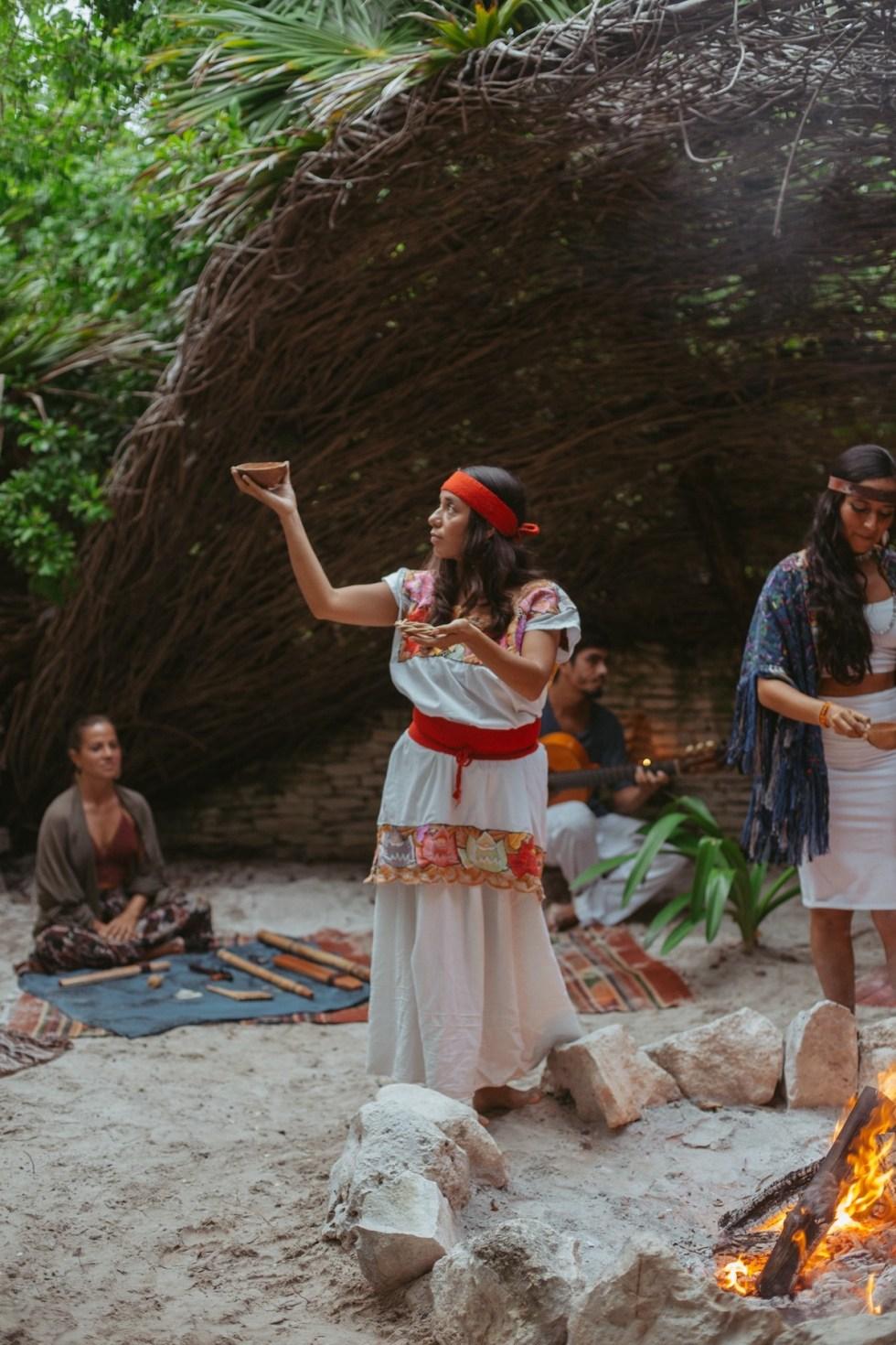 Ikal Tulum Hotel ceremony
