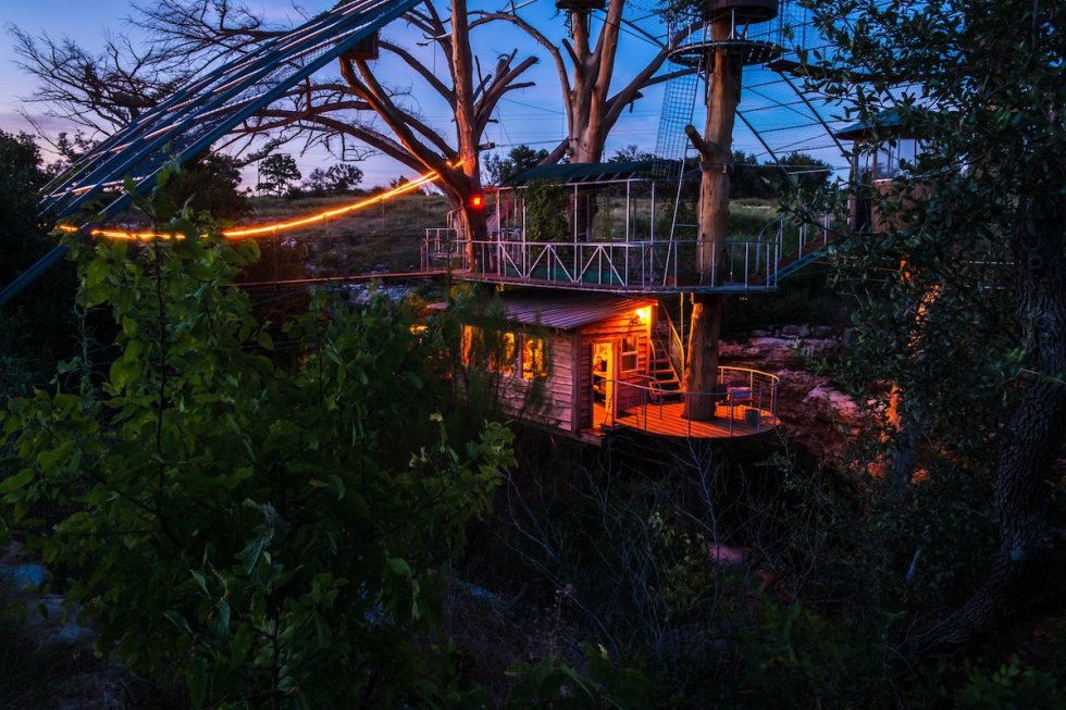 Cypress Valley Treehouses Spicewood TX