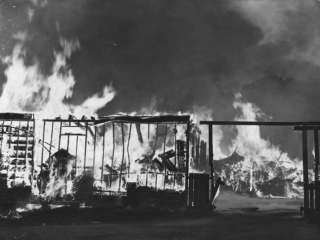 Fires In Richmond Lumber Yards The Valentine