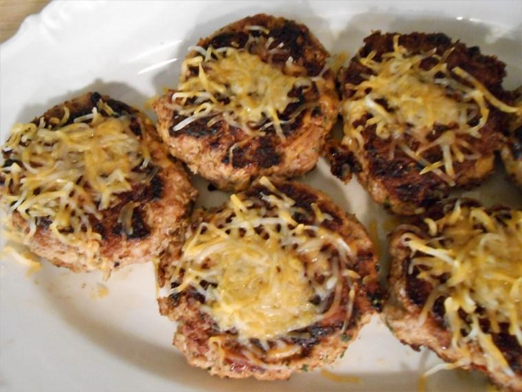 turkey burgers, cheese, healthy living