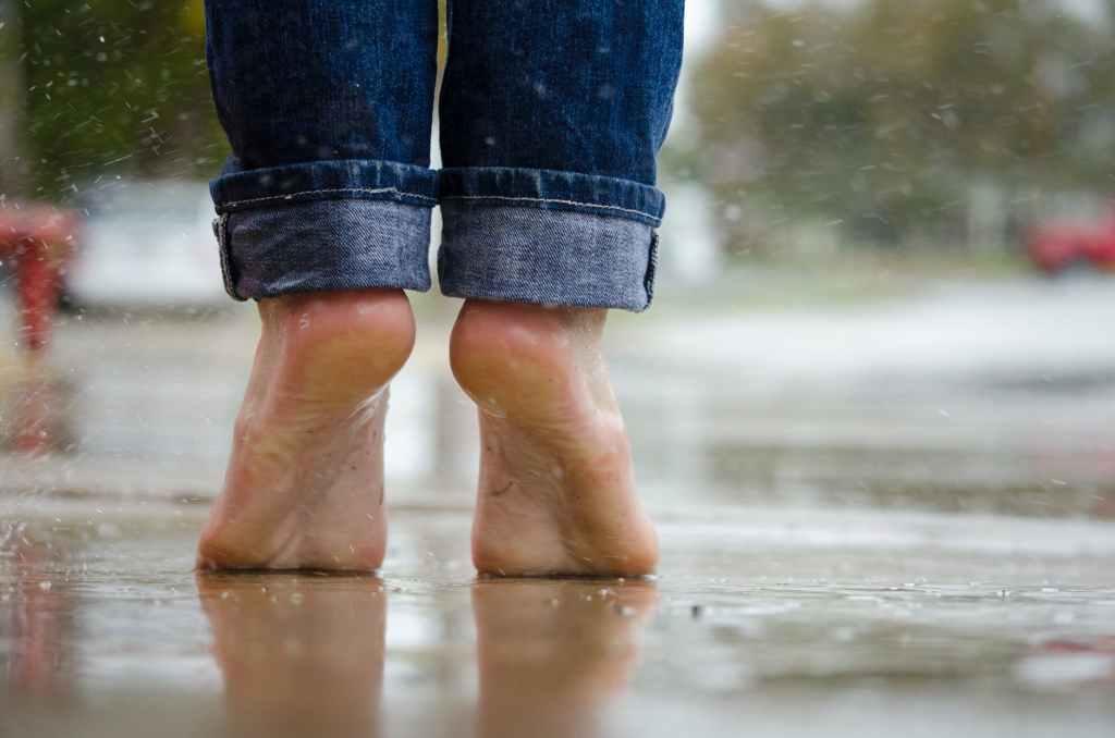 rain, feet, dancing, dancing in the rain, David, emotional health, mental health, spiritual health, poet, poetry, storms