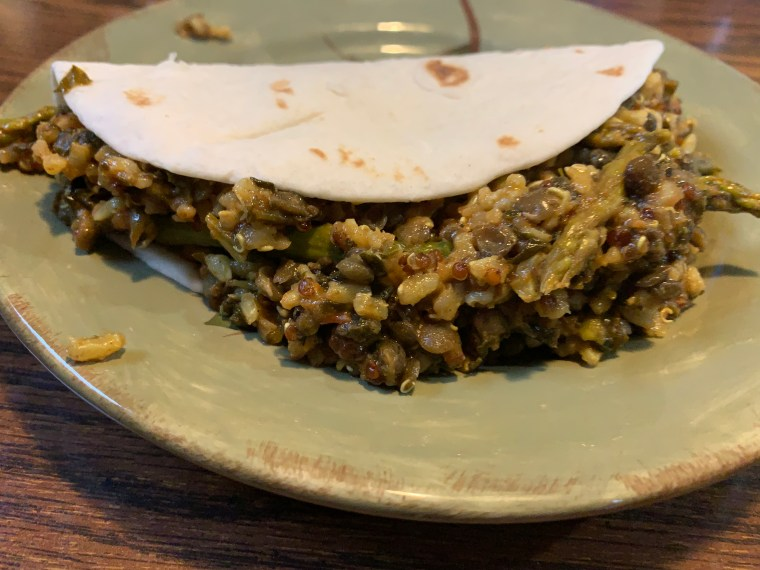 tacos, lentils, asparagus, brown rice, food photography, recipes, healthy living, healthy eating