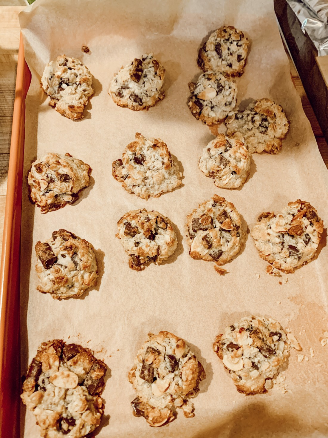 almond chocolate chip cookies, healthy eating, vegan recipes, lifestyle, katina horton, lifestyle blogger, blogging community, food photography, simple functional grace-filled living