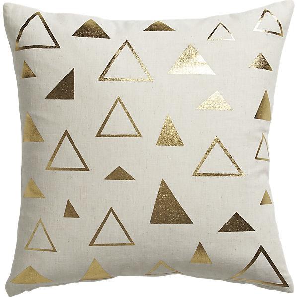 """cb2 tryst 16"""" pillow"""