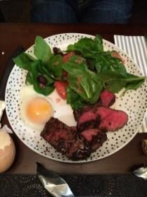 First Nomiku Din complete with grapefruit salad