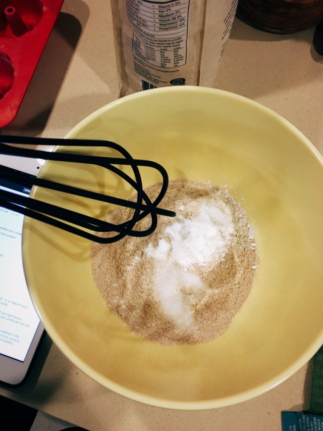Banana Bread - Whisk Dry Ingredients Together