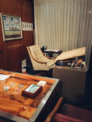 Schultz's Desk