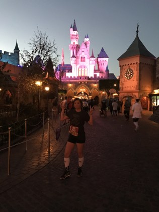 Running through the Castle
