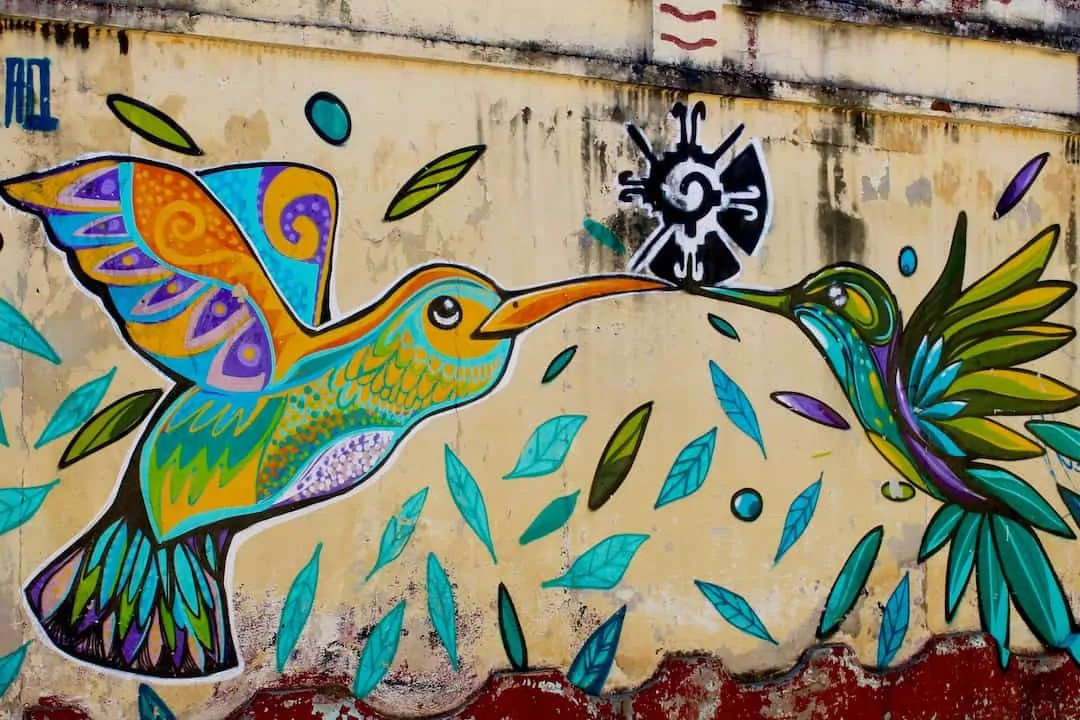 Street art in San Cristobal de las Casas